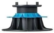 Plot réglable pour dalle hauteur de 80 à 140 mm dalle hauteur de 80 à 140 mm - Plot fixe H. 10mm pour dalle - Gedimat.fr