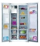 Réfrigérateur américain SCHNEIDER 550 litres Blanc - Réfrigérateurs - Cuisine - GEDIMAT