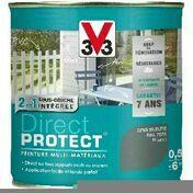 Peinture DIRECT PROTECT satin corail  - pot 0,5l - Peinture DIRECT PROTECT satin bleu turquoise  - pot 0,5l - Gedimat.fr