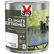 Vernis métaux CLIMATS EXTREMES satin incolore  - pot 0,25l - Produits de finition bois - Peinture & Droguerie - GEDIMAT