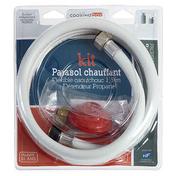 Connection pour bouteille de gaz Propane pour parasol - Barbecues - Fours - Planchas - Plein air & Loisirs - GEDIMAT