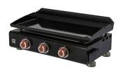 Plancha gaz munie de 3 brûleurs SILVIA II G - Barbecues - Fours - Planchas - Plein air & Loisirs - GEDIMAT