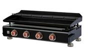 Plancha gaz munie de 4 brûleurs SILVIA II G - Barbecues - Fours - Planchas - Plein air & Loisirs - GEDIMAT