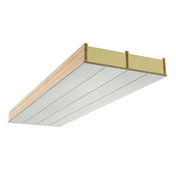 Panneau chevronné polyuréthane USYSTEM ROOF OS GYP - 5,10x0,80m Ep.135/160mm - R=6,00m².K/W. - Panneaux de toitures - Couverture & Bardage - GEDIMAT