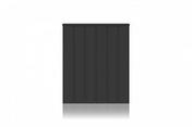 Radiateur Connecté à inertie réfractite MANON modèle Horizontal coloris Gris 2000W CHAUFELEC - GEDIMAT - Matériaux de construction - Bricolage - Décoration