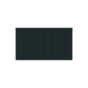 Radiateur Connecté à inertie réfractite MANON modèle Bas coloris Gris 1000W CHAUFELEC - GEDIMAT - Matériaux de construction - Bricolage - Décoration