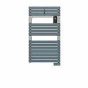 Radiateur sèche-serviettes ASAMA connecté Bleu-Gris 500W SAUTER - Chauffage salle de bain - Salle de Bains & Sanitaire - GEDIMAT