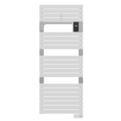 Radiateur sèche-serviettes ASAMA connecté  750W Blanc SAUTER - Chauffage salle de bain - Salle de Bains & Sanitaire - GEDIMAT
