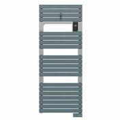 Radiateur sèche-serviettes ASAMA connecté Bleu-Gris 750W SAUTER - Chauffage salle de bain - Salle de Bains & Sanitaire - GEDIMAT