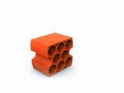 Casier bouteille 9 trous - 350x320x250mm - Rangements - Paniers - Cuisine - GEDIMAT