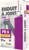 Enduit joint PR6 - sac de 25kg - Enduits - Colles - Isolation & Cloison - GEDIMAT