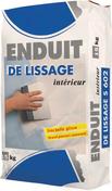 Enduit lissage S602 - sac de 15kg - Peinture cuisine et bain blanc satin  - pot 2,5l - Gedimat.fr