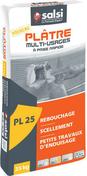 Plâtre en poudre manuel PL25 multi usages - sac de 25kg - Plâtres en poudre - Matériaux & Construction - GEDIMAT