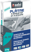 Plâtre en poudre manuel PL50 - sac de 25kg - Plâtres en poudre - Isolation & Cloison - GEDIMAT