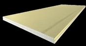 Plaque de plâtre acoustique PREGYTWIN BA18S - 2,60x0,90m - Laine de roche ROCKMUR KRAFT - 1,35x0,60m Ep.130mm - R=3,70m².K/W. - Gedimat.fr