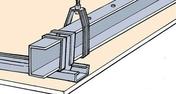 Rail PREGYMETAL 3 plus - 6m - Profilés pour plaques de plâtre - Isolation & Cloison - GEDIMAT