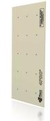 Plaque de plâtre spéciale 4PRO BA13 - 3x1,20m - Rail HYDROSTIL R48 - 3m - Gedimat.fr