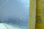 Laine de verre PANODAL revêtue alu - 1,35x0,60m Ep.96mm - R=3,00m².K/W. - Dalles - Terrasses - Isolation & Cloison - GEDIMAT