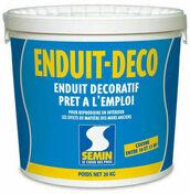 Enduit DECO - seau de 20kg - Enduits effets décoratifs - Peinture & Droguerie - GEDIMAT