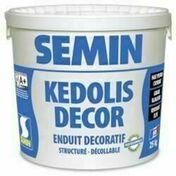 Enduit décoratif KEDOLIS DECOR - sac de 25kg - Enduits effets décoratifs - Peinture & Droguerie - GEDIMAT
