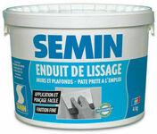 Enduit de lissage pâte - seau de 4kg - Enduits de lissage - Peinture & Droguerie - GEDIMAT