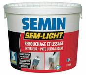 Enduit de rebouchage intérieur SEM LIGHT - seau de 10l - Enduits de rebouchage - Peinture & Droguerie - GEDIMAT