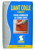Liant colle ciment pour carreaux terre cuite - sac de 25kg - Brique CARROBRIC - 666x48x500mm - Gedimat.fr