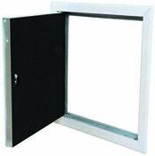 Trappe de visite métallique laquée blanche HQ - 600x600mm - Trappes de visite - Isolation & Cloison - GEDIMAT