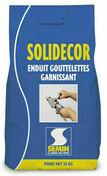 Enduit décoratif SOLIDECOR garnissant teinté SP- sac de 25kg - Enduits effets décoratifs - Peinture & Droguerie - GEDIMAT