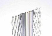 Profil joint dilatation déployé PVC  beige - 3m - Armature en treillis de verre maille 9X9mm rouleau larg.1m long.50m surface 50m² - Gedimat.fr