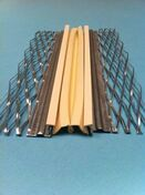 Profil joint dilatation déployé parasismique PVC blanc - 3m - Habillages de façade - Matériaux & Construction - GEDIMAT