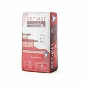 Ciment OPTIMAT CEM II/A-LL 42,5 R CE NF - sac de 25kg - Pavés vieillis dim.15x15cm ép.6cm coloris noir - Gedimat.fr