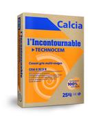 Ciment TECHNOCEM CEM II/B-LL 32,5 R CE CP2 NF - sac de 25kg - Gedimat.fr
