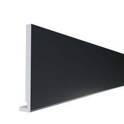 Planche de rive PVC cellulaire à clouer ép.16 mm larg.200 mm long.4 m Gris Anthracite - Planches de rives - Sous-faces - Couverture & Bardage - GEDIMAT
