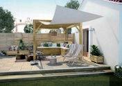 Lame de terrasse Pin Sylvestre Classe 4 traitement autoclave vert ép. 27mm larg.145mm long.3m - Terrasses en bois - Aménagements extérieurs - GEDIMAT