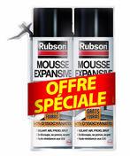 RUBSON Mousse Expansive Isole et Rebouche Lot de 2 aérosols 500ml - Applique murale femelle laiton brut diam.15x21mm pour tuyau polyéthylène diam.20mm avec lien 1 pièce - Gedimat.fr
