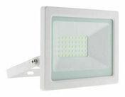 Projecteur LED IP65 blanc - 30W - Projecteurs - Baladeuses - Hublots - Electricité & Eclairage - GEDIMAT