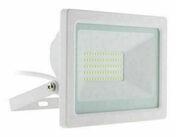 Projecteur LED IP65 blanc - 50W - Projecteurs - Baladeuses - Hublots - Electricité & Eclairage - GEDIMAT