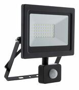 Projecteur LED IP44 + détecteur noir - 30W - Projecteurs - Baladeuses - Hublots - Electricité & Eclairage - GEDIMAT