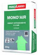 Enduit d'étanchéité à l'air intérieur MONO'AIR - sac de 25kg - Protection des façades - Matériaux & Construction - GEDIMAT