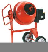 Bétonnière électrique LESCHA SM165S MONO - Enduit monocouche lourd grain moyen MONODECOR GM sac de 30kg coloris B78 - Gedimat.fr