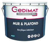 Peinture déco acrylique mur & plafond mat blanc 10 L GEDIMAT PERFORMANCE PRO - Spa 2 places MAGIC long.200cm larg.1,60m haut.63,5cm tablier noir - Gedimat.fr