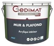 Peinture acrylique mur & plafond mat blanc 10 L GEDIMAT PERFORMANCE PRO ECOLABEL - Lanterne diam.100mm pour tuiles TERREAL coloris rouge - Gedimat.fr