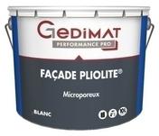 Peinture façade pliolite blanc 10 L GEDIMAT PERFORMANCE PRO - Saturateur bois incolore 5L - Gedimat.fr