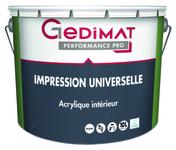 Impression universelle 10 L GEDIMAT PERFORMANCE PRO - Peintures sous-couches - Peinture & Droguerie - GEDIMAT