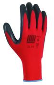 Lot de 6 paires de gants rouges latex noir Taille 9 - Protection des personnes - Vêtements - Outillage - GEDIMAT